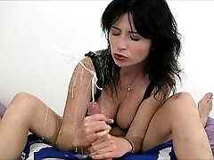 Tatiana Petrova cumshot facial from Billy